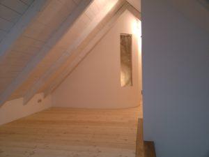 Zeit - Wohnhaussanierung Leichlingen - Innenraum Spitzboden