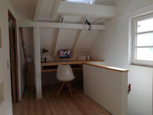 Zeit - Wohnhaussanierung Leichlingen - Innenraum Büro