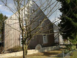 Zeit - Wohnhaussanierung Leichlingen - Westfassade + Terrasse