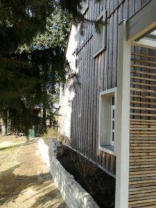 Zeit - Wohnhaussanierung Leichlingen - Westfassade